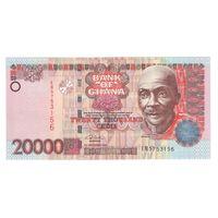 Гана 20000 седис 2002 года. Состояние UNC! Редкая!