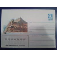1984 крым, Генуэзская крепость 14-15 вв