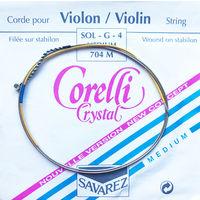 Струны для скрипки Corelli Crystal