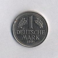Федеративная Республика Германия, 1 марка 1991 г.