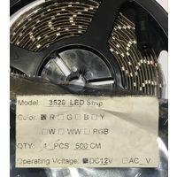 КРАСНАЯ 3528  светодиодная лента IP20 60 свд/м. ЦЕНА за бобину 60 led/m IP20 / EL-FS 3528 60 LED