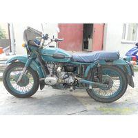 Мотоцикл Урал 1991 г. соло.650см3.