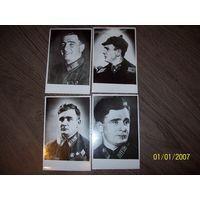 Офицер РККА на фотографиях с орденом Ленина