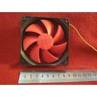 Вентилятор/Кулер/Fan Красный Washable PcCooler F95 90mm (90x90x25) 3pin 12V