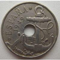 Испания 50 сентимо 1949 г. (62)