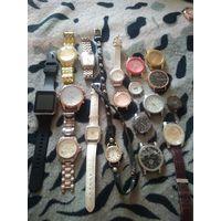 Часы разные лот (с рубля)