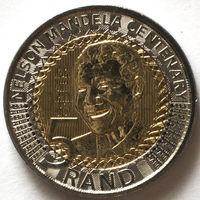 Южная Африка (ЮАР) 5 ранд 2018 года. Нельсон Мандела