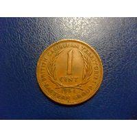 Восточные Карибы 1 цент 1964