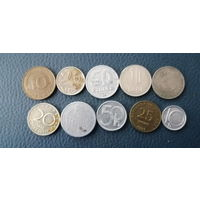 10 разных монет одним лотом. Лот 9