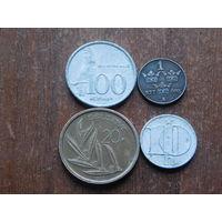 Четыре монеты с 1 рубля....28