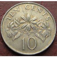 2136:  10 центов 1987 Сингапур