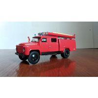 Автолегенды СССР Грузовики #8 АЦ-3053 (ГАЗ-53) пожарная цистерна 1:43