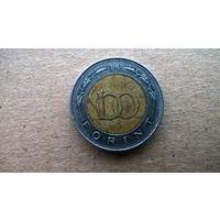 Венгрия 100 форинтов, 1998г. (А-11)