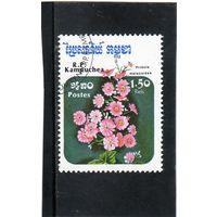 Камбоджа. Ми-677. Примула Malacoides. Серия: Цветы. 1985.