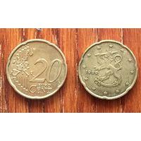 Финляндия, 20 евроцентов 1999