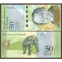 Венесуэла 50 боливар 2012г. Пресс UNC. распродажа
