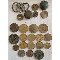 Лот ранних монет СССР