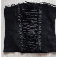 Корсет чёрного цвета
