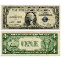 США. 1 доллар (образца 1935 года, 1935D, P416D2, VF)