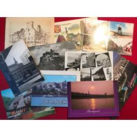 Европа - города - 10 открыток (1960-2000-е)