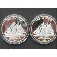 Монета - медаль парусник 1839 AMISTAD CINQUE . распродажа