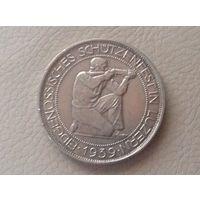 Швейцария 5 франков Люцерн 1939г