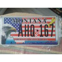 Номер автомобильный США Montana