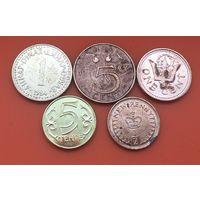 5 монет 5 стран  без повторов #55 Старт с 50 копеек