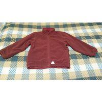 Куртка бордовая