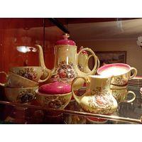 Набор посуды королевская серия Фортуна, 21 предмет, 50-60года, новый