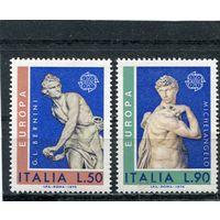Италия. Искусство скульптуры. Европа СЕРТ 1974