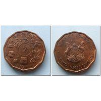 2 шиллинга Уганда 1987 года - из коллекции