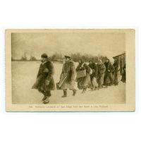 Черно белая открытка город Лида(прошедшая почту) 4