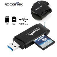 Карт-Ридер Rocketek USB 3.0 для SD, microSD, TF
