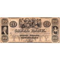 США, 1800', 20 долларов, Canal Bank, New Orleans. Не частые!