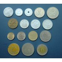 Лот из 16-ти монет Венгрии без повторов