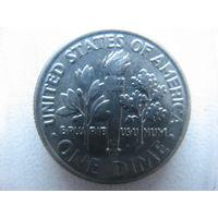 США 10 центов (1 дайм) 2007 г.