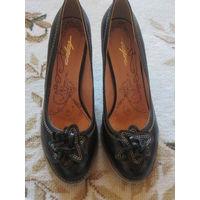 Туфли натуральная кожа как новые
