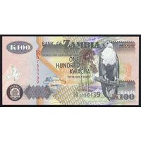 ZAMBIA/Замбия_100 Kwacha_2006_Pick#38.f_UNC
