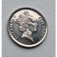 Фиджи 5 центов, 2009 3-15-34