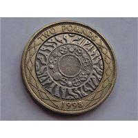 Великобритания 2 фунта 1998