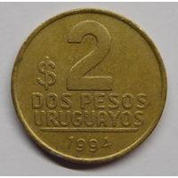 Уругвай 2 песо 1994 г