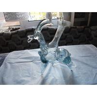 Бутылка фигурная (горный козёл) 250 млл. стекло. распродажа