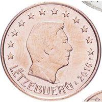 5 евроцентов 2016 Люксембург UNC из ролла