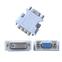 Переходник DVI - VGA (DVI-I Dual Link на VGA D-Sub 15)