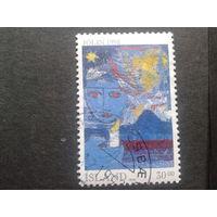 Исландия 1992 Рождество