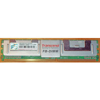 Серверная память Transcend DDR2 2GB 667Mhz PC-5300 FB-DIMM 240 pin