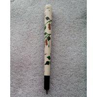 Шариковая ручка из дерева. Made in USSR . Ручная роспись .