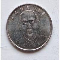 Тайвань 10 долларов, 101 (2012) 4-9-9