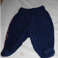 Штаны-ползуны тепленькие! Размер 56.